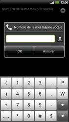 HTC Z710e Sensation - Messagerie vocale - configuration manuelle - Étape 8