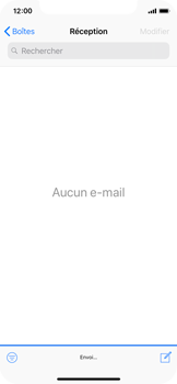 Apple iPhone X - iOS 12 - E-mail - envoyer un e-mail - Étape 14