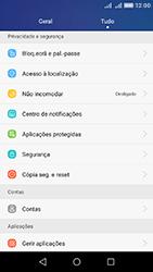 Huawei Y6 - Segurança - Como ativar o código de bloqueio do ecrã -  3