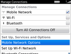 BlackBerry 9780 Bold - Internet - Enable or disable - Step 4