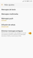 Samsung Galaxy S7 - Mensajería - Configurar el equipo para mensajes de texto - Paso 7