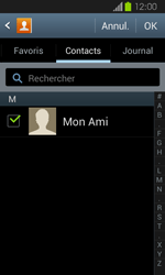 Samsung Galaxy Express - Contact, Appels, SMS/MMS - Envoyer un SMS - Étape 8