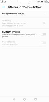 Huawei P20 Pro Dual-SIM (Model CLT-L29) - WiFi - Mobiele hotspot instellen - Stap 5