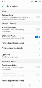 Huawei P20 - Internet no telemóvel - Como ativar os dados móveis -  5