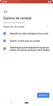 Google Pixel 3 - E-mail - 032c. Email wizard - Outlook - Étape 10