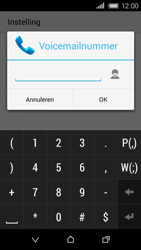 HTC Desire 320 - Voicemail - Handmatig instellen - Stap 13