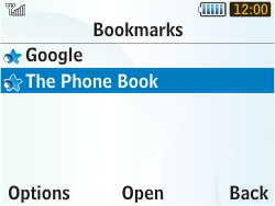 Samsung S3350 Chat 335 - Internet - Internet browsing - Step 10