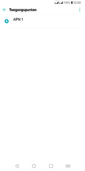 LG Q7 - Internet - Handmatig instellen - Stap 8