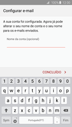 Samsung Galaxy S6 - Email - Adicionar conta de email -  9