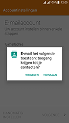 ZTE Blade V8 - E-mail - e-mail instellen: POP3 - Stap 4