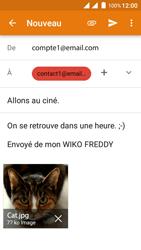 Wiko Freddy - E-mails - Envoyer un e-mail - Étape 15