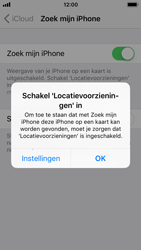 Apple iPhone SE - iOS 11 - Beveiliging en privacy - zoek mijn iPhone activeren - Stap 7