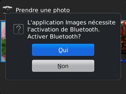 BlackBerry 9720 - Photos, vidéos, musique - Envoyer une photo via Bluetooth - Étape 12