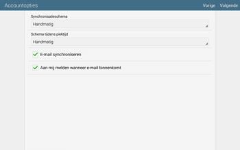 Samsung Galaxy Tab S 10.5 4G (SM-T805) - E-mail - Handmatig instellen - Stap 18