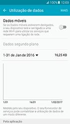Samsung Galaxy A5 (2016) (A510F) - Internet no telemóvel - Como ativar os dados móveis -  5