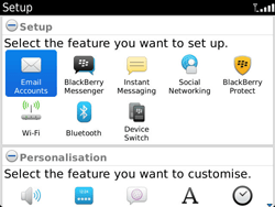 BlackBerry 9900 Bold Touch - Email - Manual configuration - Step 4