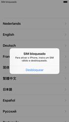 Apple iPhone 8 - Primeiros passos - Como ligar o telemóvel pela primeira vez -  4
