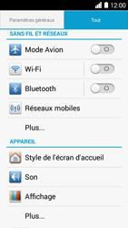 Huawei Ascend Y530 - Wifi - configuration manuelle - Étape 2