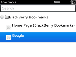 BlackBerry 9780 Bold - Internet - Internet browsing - Step 7