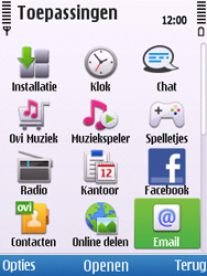 Nokia C5-00 - E-mail - Handmatig instellen - Stap 4