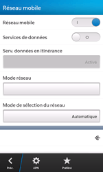 BlackBerry Z10 - Internet - configuration manuelle - Étape 7