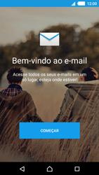 Sony Xperia M4 Aqua - Email - Como configurar seu celular para receber e enviar e-mails - Etapa 5