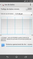 Sony Xperia E4G - Rede móvel - Como ativar e desativar uma rede de dados - Etapa 7