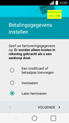 LG Leon (H320) - Applicaties - Account aanmaken - Stap 16