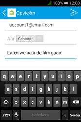 "Alcatel Pixi 3 - 3.5"" - E-mail - e-mail versturen - Stap 8"