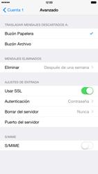 Apple iPhone 6 Plus iOS 8 - E-mail - Configurar correo electrónico - Paso 23