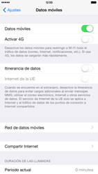 Apple iPhone 6 Plus iOS 8 - Red - Seleccionar el tipo de red - Paso 5