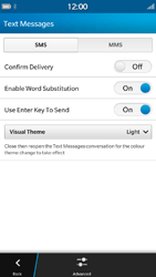 BlackBerry Z30 - SMS - Manual configuration - Step 6