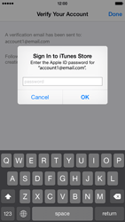 Apple iPhone 6 - Applications - Create an account - Step 27
