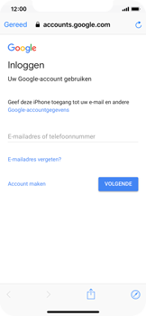 Apple iPhone X - iOS 12 - E-mail - Handmatig instellen (gmail) - Stap 6