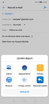 Huawei P20 Lite - E-mail - envoyer un e-mail - Étape 10