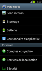Samsung Galaxy Trend - Applications - Supprimer une application - Étape 4