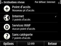 Nokia E6-00 - Wifi - configuration manuelle - Étape 12