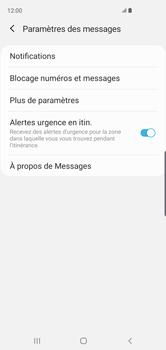 Samsung Galaxy S10 - SMS - configuration manuelle - Étape 7