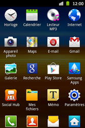 Samsung S6500D Galaxy Mini 2 - Internet - Navigation sur Internet - Étape 2