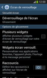 Samsung Galaxy Ace 3 - Sécuriser votre mobile - Activer le code de verrouillage - Étape 6