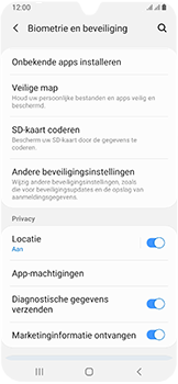 Samsung galaxy-a40-dual-sim-sm-a405fn - Beveiliging en ouderlijk toezicht - Hoe wijzig ik mijn SIM PIN-code - Stap 5