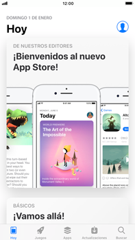 Apple iPhone 7 Plus iOS 11 - Aplicaciones - Descargar aplicaciones - Paso 3