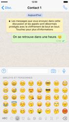 Apple iPhone 6 iOS 9 - WhatsApp - Envoyer des SMS avec WhatsApp - Étape 13