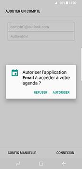 Samsung Galaxy S8 - E-mails - Ajouter ou modifier votre compte Outlook - Étape 11