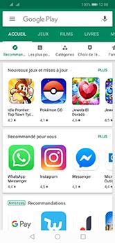 Huawei Y7 (2019) - Applications - comment vérifier si des mises à jour sont disponibles pour l'appli - Étape 3