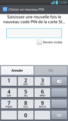 LG Optimus F6 - Sécuriser votre mobile - Activer le code de verrouillage - Étape 8