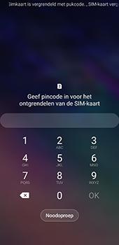 Samsung galaxy-a8-2018-sm-a530f-android-pie - Beveiliging en ouderlijk toezicht - PUK code invoeren - Stap 2