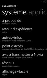 Nokia Lumia 720 - Internet - Configuration manuelle - Étape 8