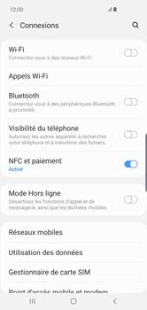 Samsung Galaxy S10 Plus - Wifi - configuration manuelle - Étape 4
