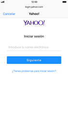 Apple iPhone 6 - iOS 11 - E-mail - Configurar Yahoo! - Paso 6